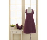 1014G10004123S Soft cotton набор для сауны IRIS фиолетовый S