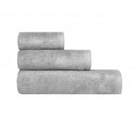 ПУАТЬЕ Полотенце, св.-серый, 70х140, 1пр, модал/хл, 650 гр/м2
