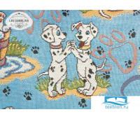 Накидка на диван гобелен 'Dalmatiens' 160х220 см