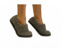 Тапочки-туфли ALTRO арт.1111333-01 овечья шерсть 40*41