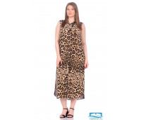 Платье-туника № 221 L леопард
