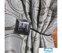 11761 Магниты Китай 5,5 см (MI M22-silver with black)
