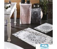 Набор ковриков для ванной Zebra 'Giovann' KV 265 пудра/серый