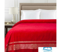 Покрывало-простыня Pandora Цвет: Красный Махра 150x200