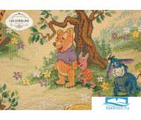 Покрывало на кровать гобелен 'Winnie L'Ourson' 250х230 см