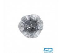 Настенный декор Solaris (малый). Цвет серебряный. Размер 19х8