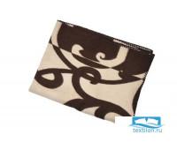 Одеяло шерстяное Жаккард арт.1 85%шерсть, 15%ПЕ 170x205
