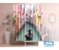 Фотоштора для ванной 145*180, 1 полотно, на люверсах Венеция