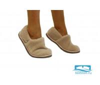 Тапочки-туфли ALTRO арт.2111333-03 шерсть альпаки 38-39