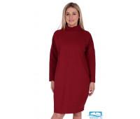 Платье П 727 (бордовый) 52