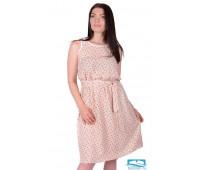 Платье П 750 (мелкие цветочки) 54