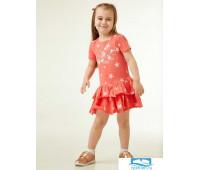 GDR 053-103 Платье детское, набивка 'звезды', с принтом