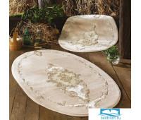 Набор ковриков для ванной  Zebra  'Velour' овал KV 273