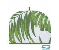 Чехол на чайник «Листья» рогожка 30х25