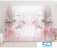 Художественный фототюль 290*260, 1 полотно Чарующая лилия