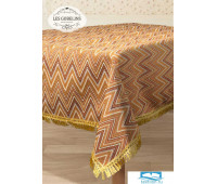 Скатерть гобелен 'Zigzag' 150х300 см