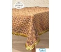 Скатерть гобелен 'Zigzag' 160х160 см
