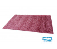 Коврик домашний  60 х 110 см, ворс 4 см, розовый, SUNSTEP