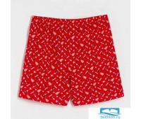 Трусы мужские KAFTAN 'Санта', красный, размер 46   3687090