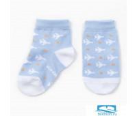 Носки Крошка Я 'Самолеты' 12-14 см, голубой   3856368