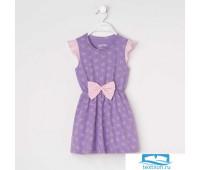 Платье  KAFTAN 'Ballerina' р.30 (98-104), фиолетовый   4172050