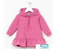 Платье KAFTAN, рост 98-104, р.30, розовый   4207074