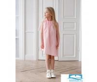 Сарафан пляжный для девочки MINAKU, рост 122 см, цвет розовый