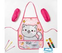 Набор детский для творчества Collorista 'Hello cat' фартук 49 х