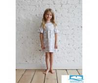 Платье для девочки MINAKU «Облака», рост 98-104