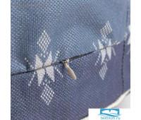 Чехол для пуфика Этель 'Скандинавия', d=60 см, рогожка