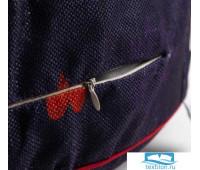 Чехол для пуфика Этель 'Норвежский праздник', d=60 см, рогожка