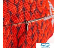 Чехол для пуфика Этель 'Новгодняя вязка', d=60 см, рогожка