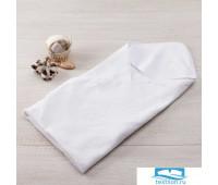 Полотенце-уголок махровый 'Крошка Я' 85*85 см, цв. белый