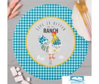 Салфетки на стол 'Chicken Ranch' 30х30см, 100% п/э