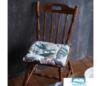 Сидушка на стул Доляна Modern kitchen 42х42х7см, МИКС,100% хл