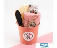 Набор подарочный 'Thank you' полотенце и акс   4686468