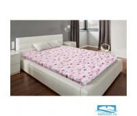 Простыня Этель «Фламинго», размер 150х220 см,бязь 4765090