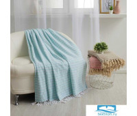 Плед Этель «Лила» 150х200± 5 см, 310 гр/м2, цвет мятный