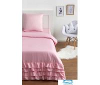 Постельное бельё Этель «Розовая пастель» 1,5 сп 145х210±2 см