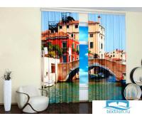 Солнечная Венеция (Крепление: Люверсы, Материал Шторы: Блэкаут, Высота: 260, Ширина: 310) 02-006