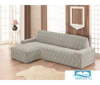 2913 Чехол на диван угловой левосторонний KARNA