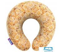 Подушка под шею «Чайные розы» (H3434C1701A005OR, 34х34