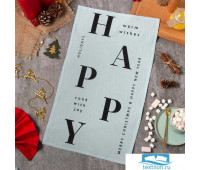 Полотенце Этель 'Happy holidays' 32*58 (±3 см)