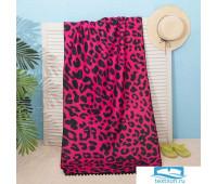Полотенце пляжное Этель 'Закат', 75*140 см, микрофибра