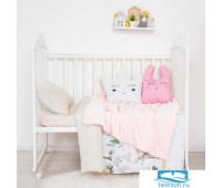 Плед двухслойный 'Крошка Я' Сладкие мечты, 85х100 см,велсофт