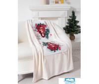 Подушка-плед Этель «Лучший подарочек», подушка 40х40±3 см