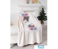 Подушка-плед Этель «Тёплых праздников», подушка 40х40±3 см