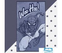 Полотенце махровое 'Человек Паук', 70х130 см, 100% хлопок