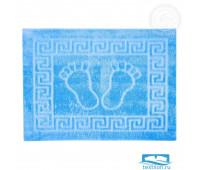 НОЖКИ АРТ Дизайн Коврик на резиновой основе 50*70 ярко-синий