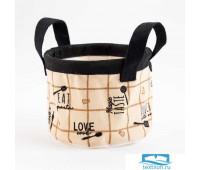 Текстильная корзинка Этель 'Homemade' 12 х14 см   5383571